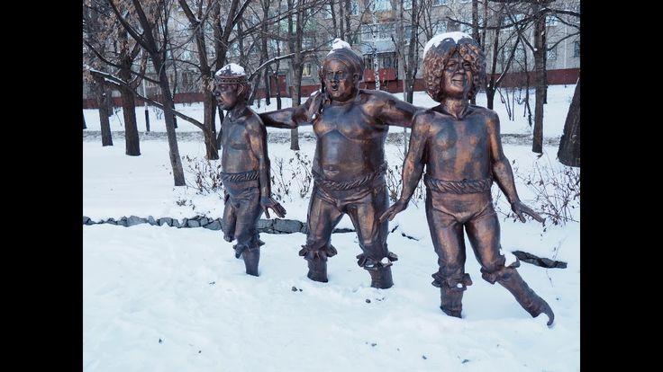 Герои мультфильмов в Хабаровске (Heroes of cartoons in Khabarovsk)