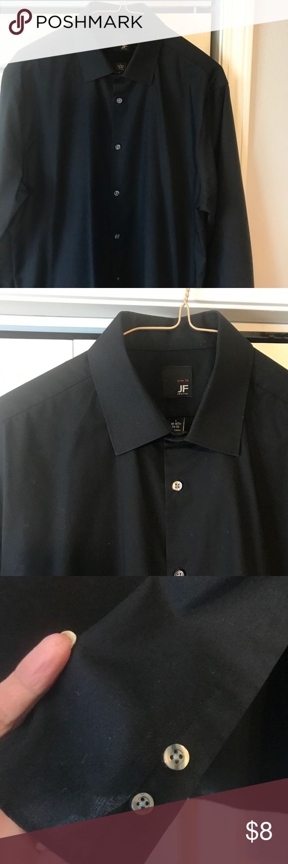 Pict j ferrar modern fit 1 - Men S Slim Fit 16 16 1 2 34 35 Long Sleeve Shirt
