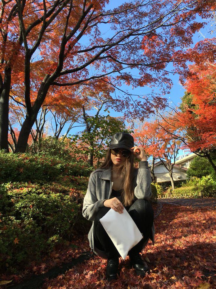 Tokyo mom fashion Dec/11/2015 Temperature : High : 75F/24C Low:44F/ 7 C