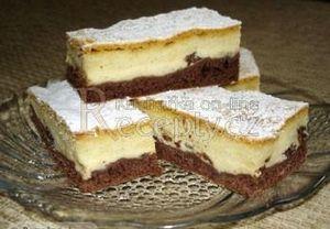 Tříbarevný koláč