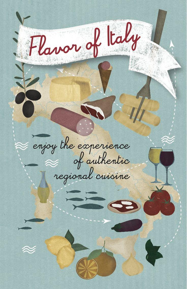 #illustration #italy #food
