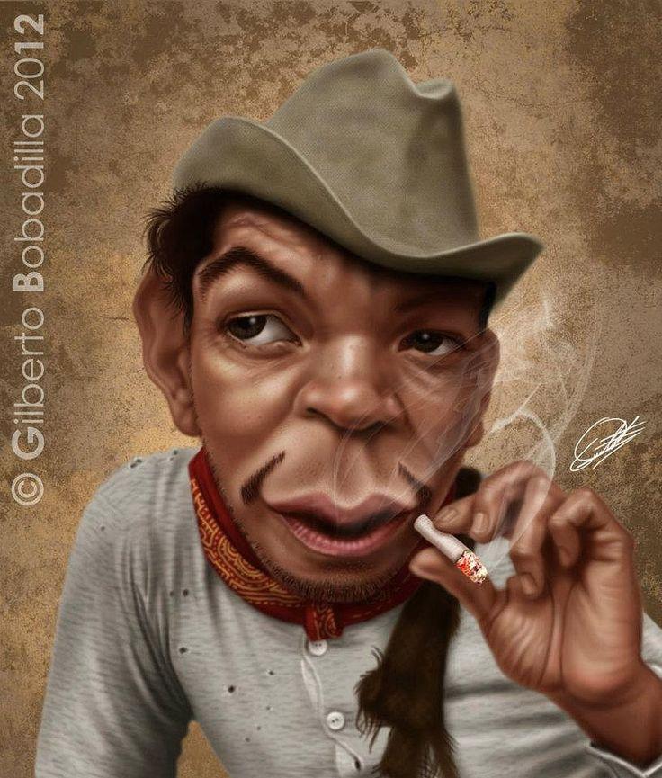Caricatura de Cantinflas                                                                                                                                                                                 Más