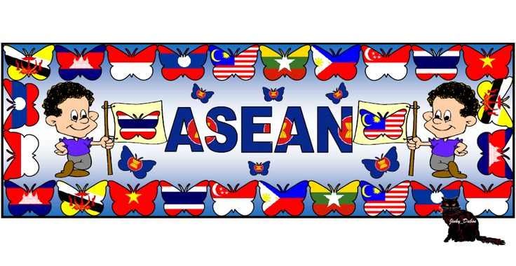 ASEAN  Themed Pack Association of South-East Asian Nations themed pack includes butterfly themed flags of each country, page borders and lined paper for games, drawing and writing activities, sets of cut-out borders and a banner for your display board. Buy this pack for £4 here at:    https://www.tes.com/teaching-resource/asean-themed-pack-11421398