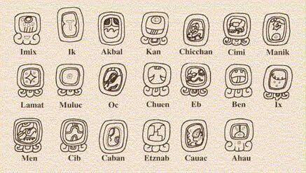 #Tzolkin #maya #gliph #glifos #mayas