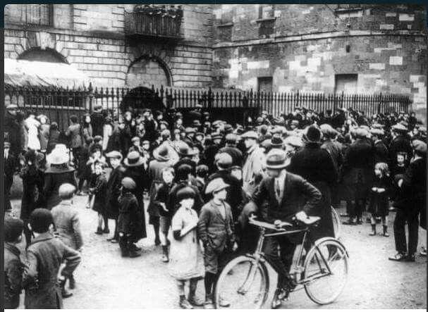 Kilmainham Jail, Dublin 1916.