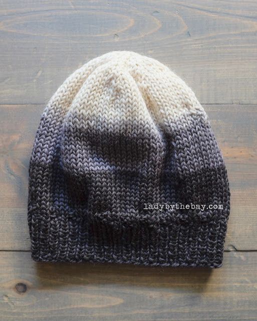 Easy Knitting Pattern For A Hat : Best 25+ Knit hat patterns ideas on Pinterest