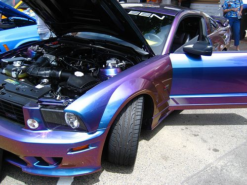 Exotic Paint Jobs On Cars Did I Say Metallic Was My Favorite Job Lied Uploaded To Carz Pinterest Mustang And