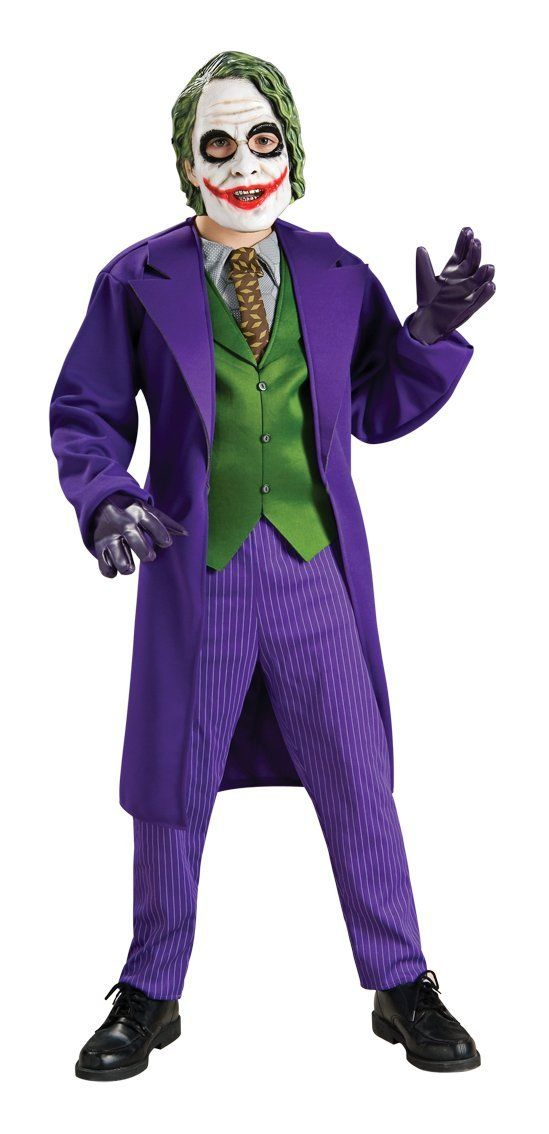 Joker Costume for Kids. Think ill toss theism and do my sons makeup and hair myself.