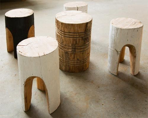 Great stools from Greg Hat­ton