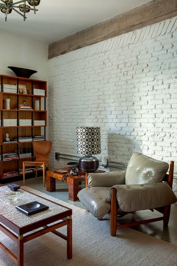 Seguimos en Brasil: Una casa de estilo retro en Sao Paulo | Etxekodeco