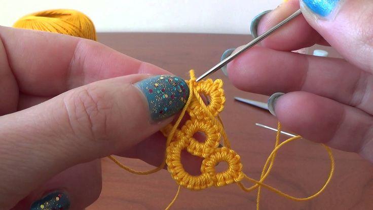Come aggiungere filo per creare CHIACCHIERINO AD AGO How to add yarn to ...