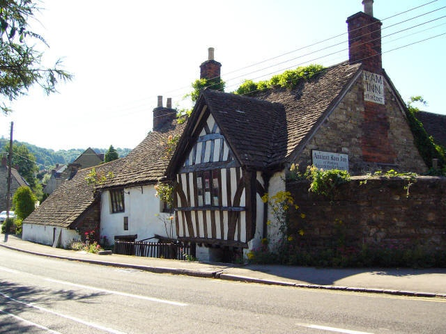 The very haunted Ancient Ram Inn.