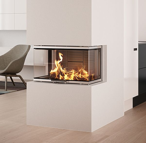 Best 25 3 Sided Fireplace Ideas On Pinterest Modern Fireplace Modern Baths And Divider Design