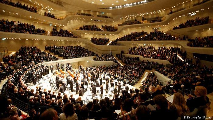 Deutschland Hamburg - G20 - Konzert in der Elbphilharmonie (Reuters/W. Rattay)