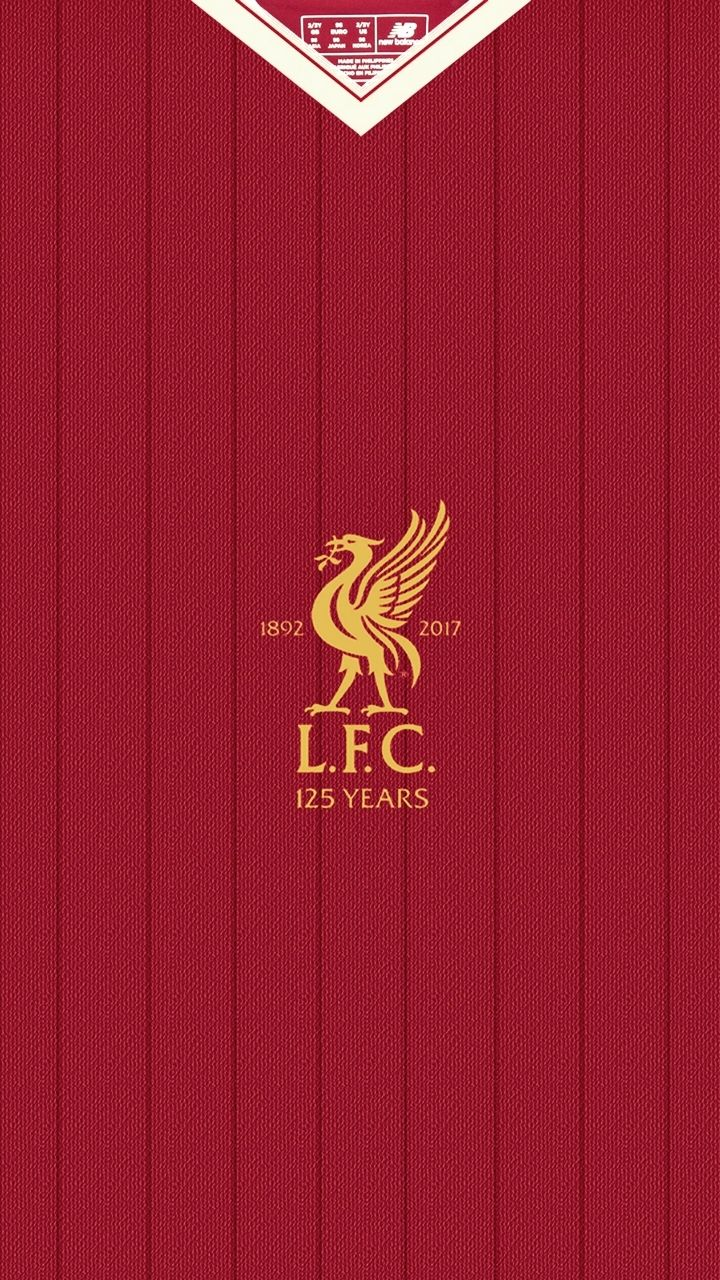 Liverpool Home Kit 2017/18, 125th Anniversary