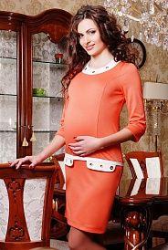 Яркие модели платьев для беременных