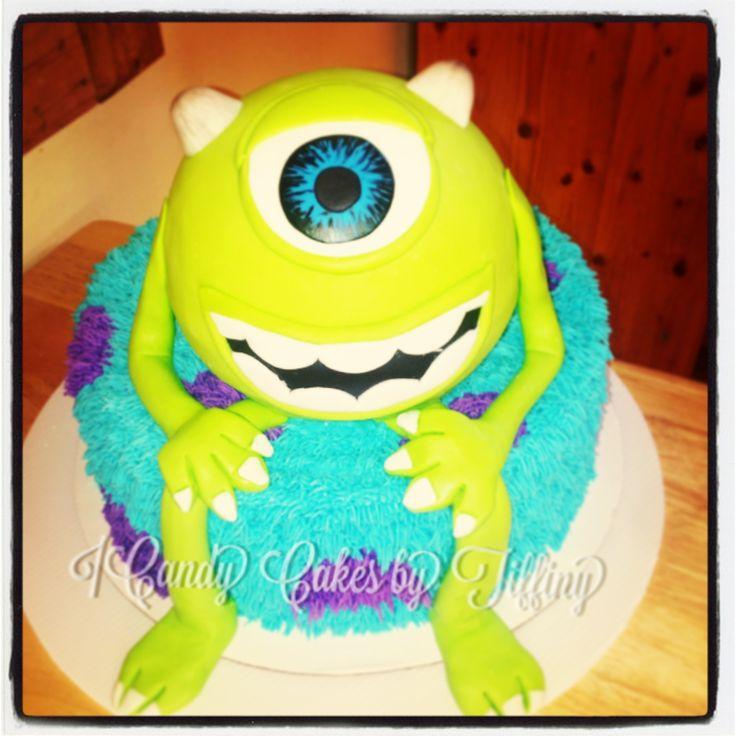 - Monsters university birthday cake