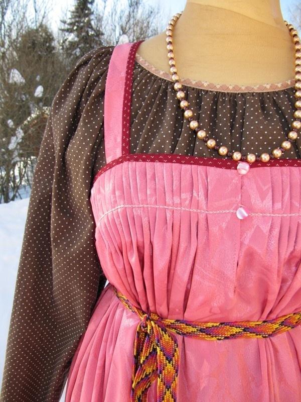 Feresi, orthodox festive dress of southeastern Finland