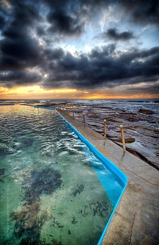 North Narrabeen Rock Pool by Christopher Chan, via Flickr
