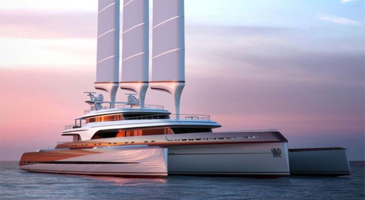 Dragonship - 116m classic concept from Swansea