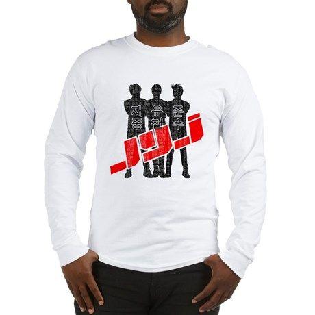 JYJ Hangul Long Sleeve T-Shirt on CafePress.com