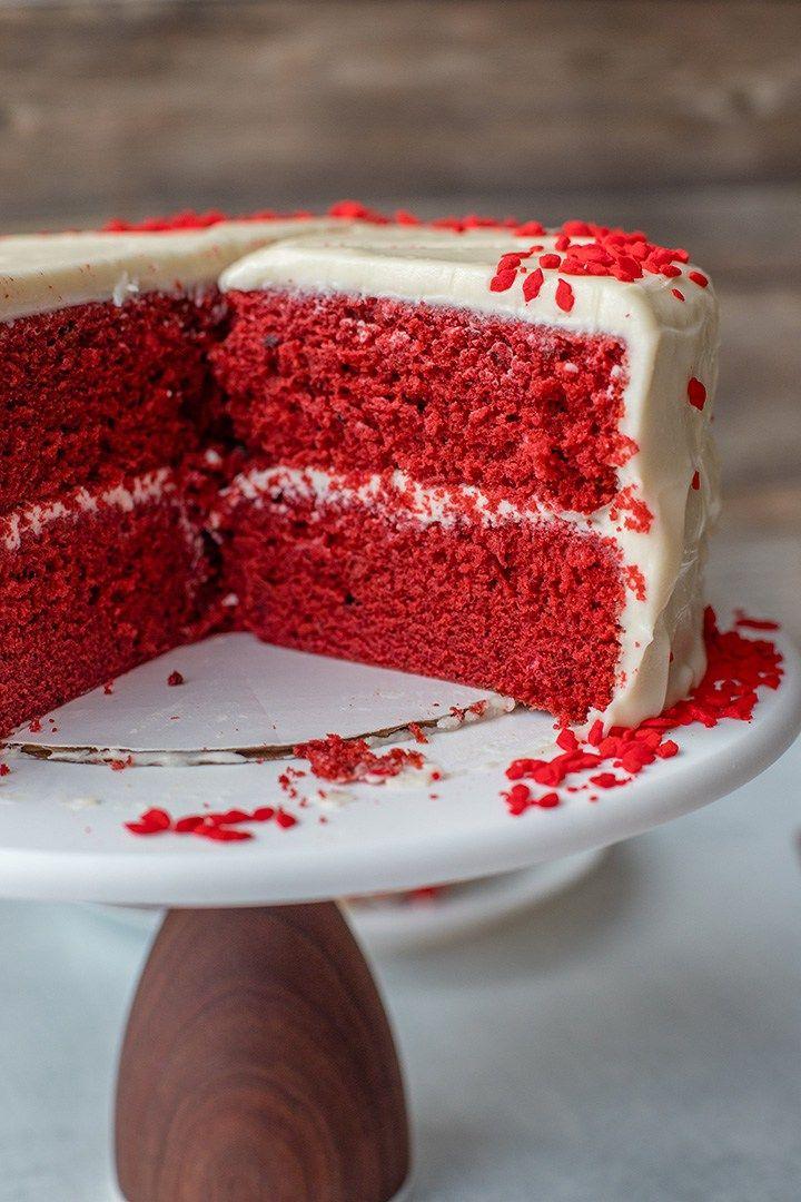 One Bowl Red Velvet Layer Cake Recipe Cake Velvet Cake Layer Cake