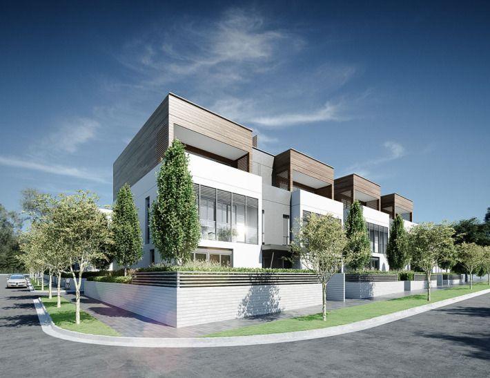 Conrad Architects Mornington Townhouses 03