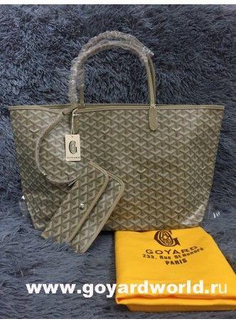 Goyard Saint Louis GM Bag Grey