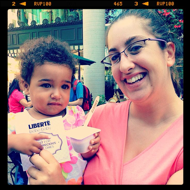 Yogourt Liberté pour la précieuse petite Jasmine. / Liberté Baby Yogurt for the precious little Jasmine.
