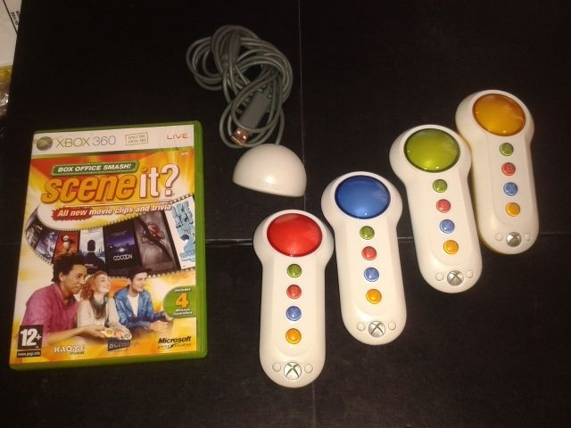 Xbox 360 * #scene it? box #office smash + 4 #buzzers * film quiz game,  View more on the LINK: 	http://www.zeppy.io/product/gb/2/371846773539/