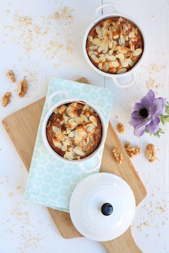 Denk heerlijk als herfstig dessert met slagroom of kaneelijs!