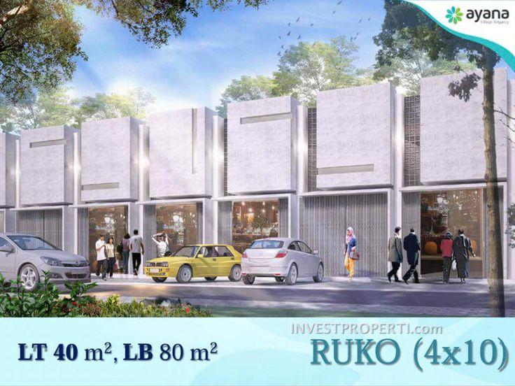 Ruko Ayana Village Tigaraksa Tangerang.