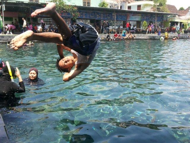 Umbul Ponggok, Klaten, Jawa Tengah