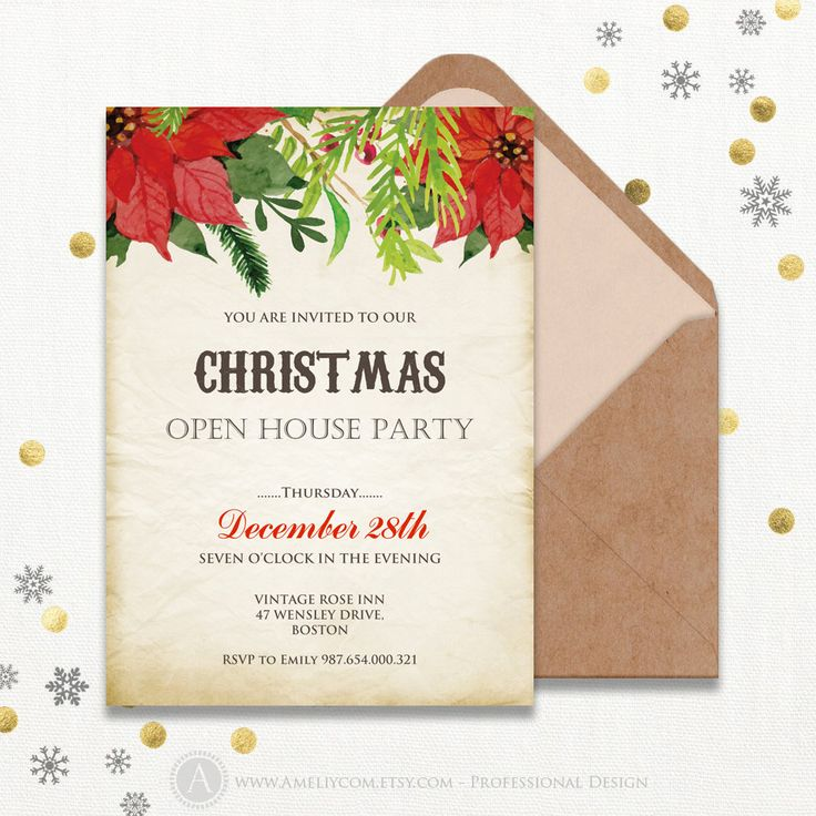 Cele mai bune 25+ de idei despre Christmas party invitation - free christmas invitations printable template