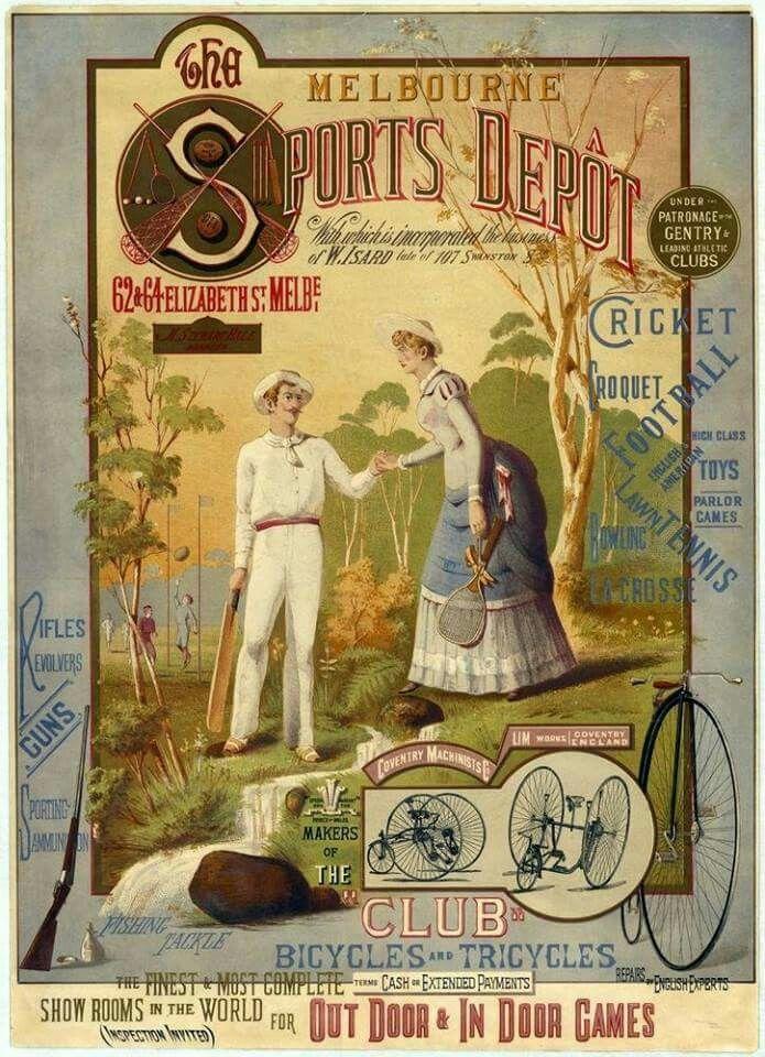 1885 Melbourne Sports Depot.