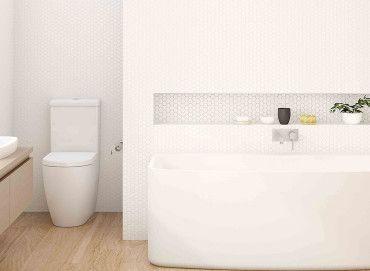 our Urbane range achieve universal design to fit a range of bathroom spaces. Clever craftsmanship ensures minimal maintenance