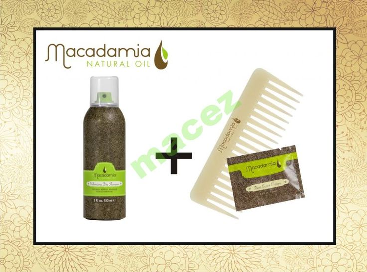 Macadamia Volumizing Dry Shampoo 150ml   gratis
