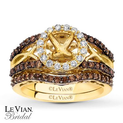 Now That Is An Engagement Ring Levian Chocolate Diamonds Carat Tw Gold Bridal Setting