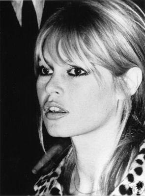 Brigitte Bardot // bangs & a leopard coat #style #fashion #beauty #hair
