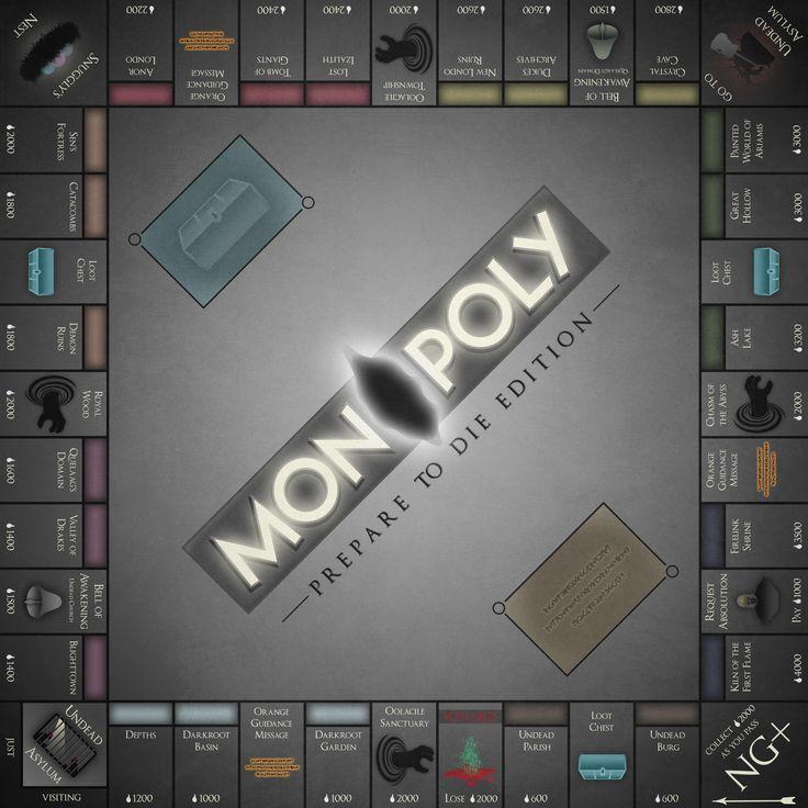 Monopoly: Prepare to Die Edition [OC]