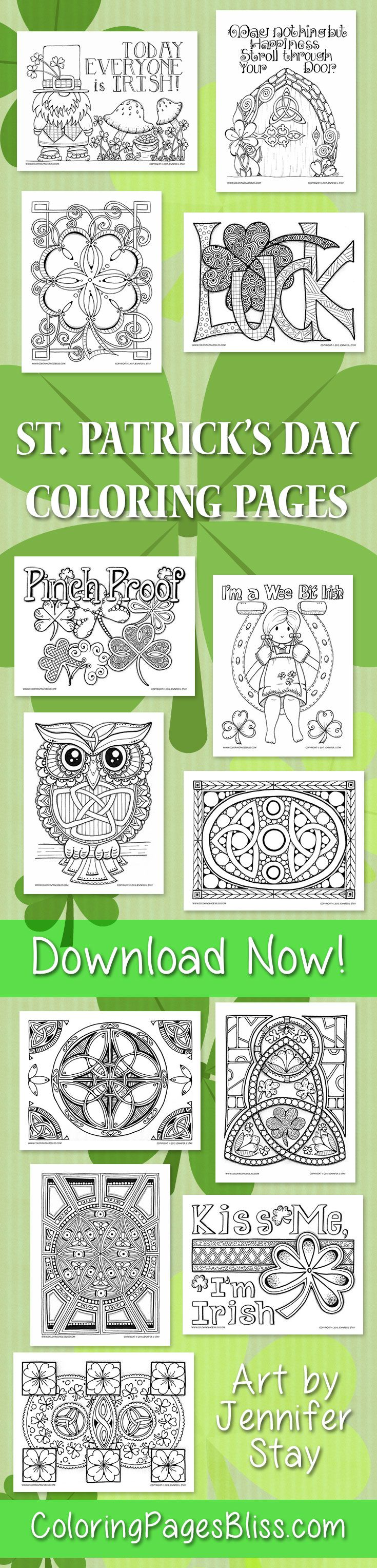 Coloring pages bliss