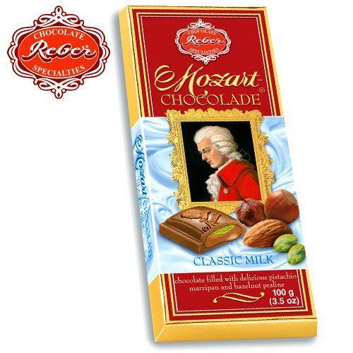 Reber Mozart Classic Milk Chocolate Bar