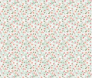 The Pattern Observer #5 on The Creative Contente blog | winter floral // pine // extra small  by: ivieclothco on spoonflower