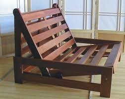 Bildergebnis für trifold wooden futon frame
