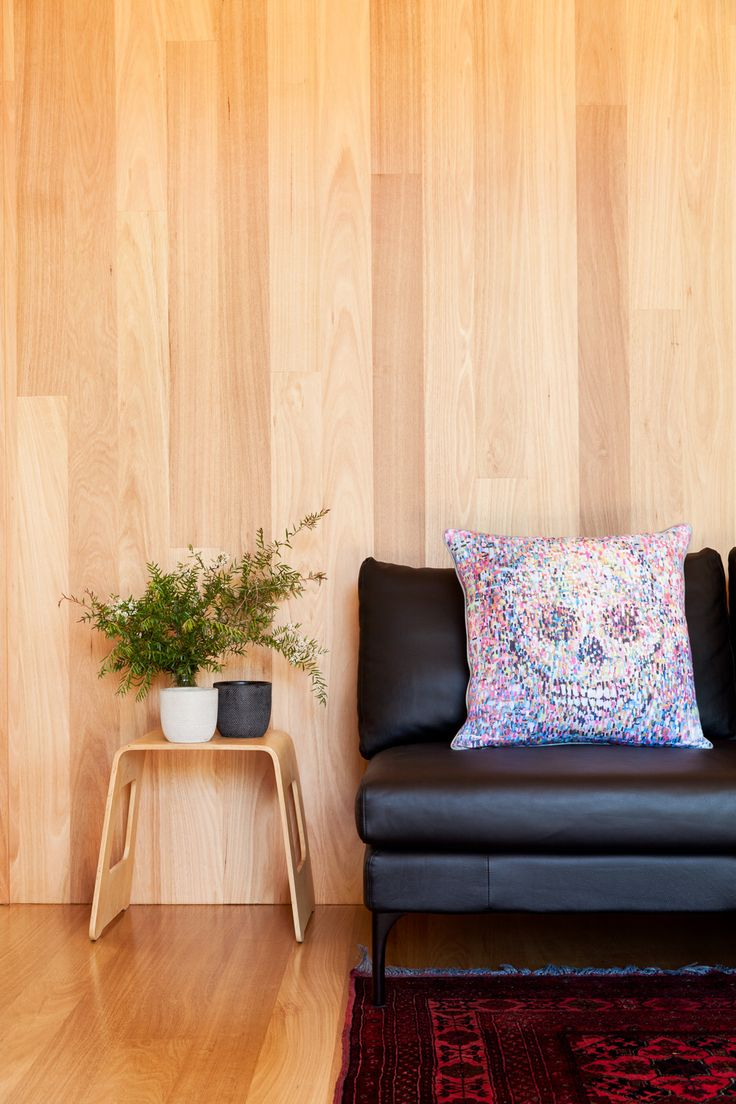 Timber feature wall. #archiblox #prefab #architecture #australianarchitecture #prefabricated