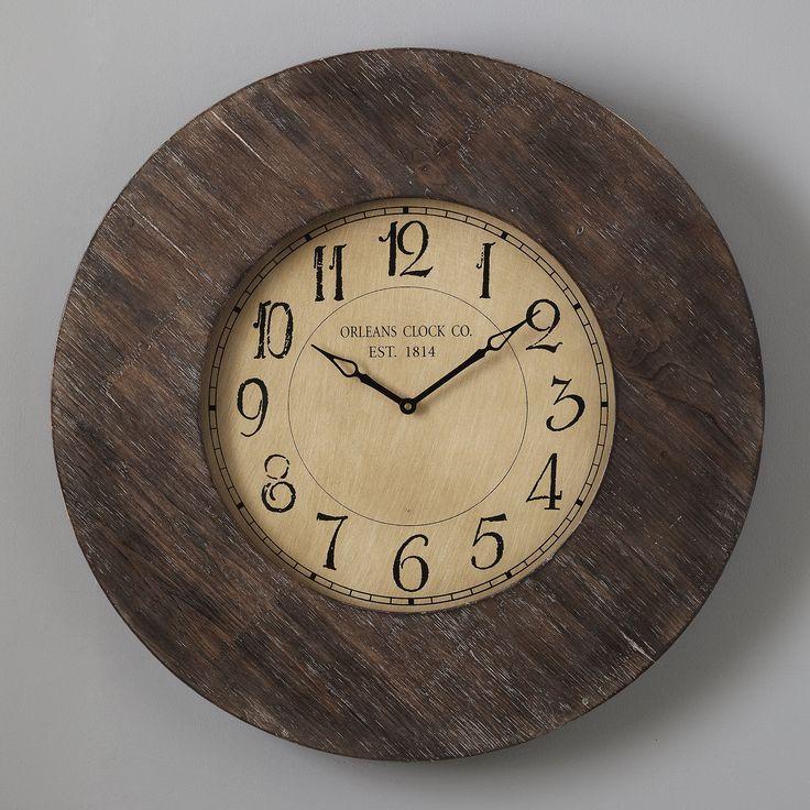 Alloway Clock from Birch Lane Dark woodgrain