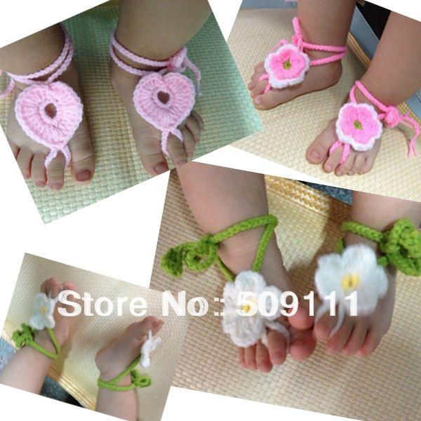 crochet baby sandals - Buscar con Google