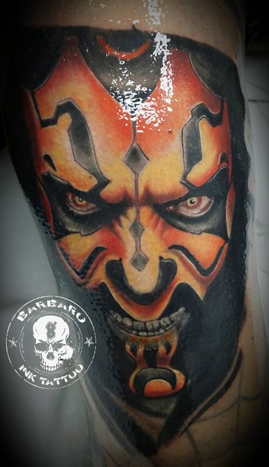 #tattoo #tattooist #tattoolife #tattooartist #tattoofreakz #tattoolifemag #tattooistartmag #tattooed_body_art #tattooistartmagazine #thebesttattooartists #thebestpaintattooartists #colortattoo #inkedmag #inkfreakz #crazytattoos  #tattooalmeria #tattooed  #terrortattoo #starwars #starwarstattoo #darthmaul #darthmaultattoo #inprogresstattoo