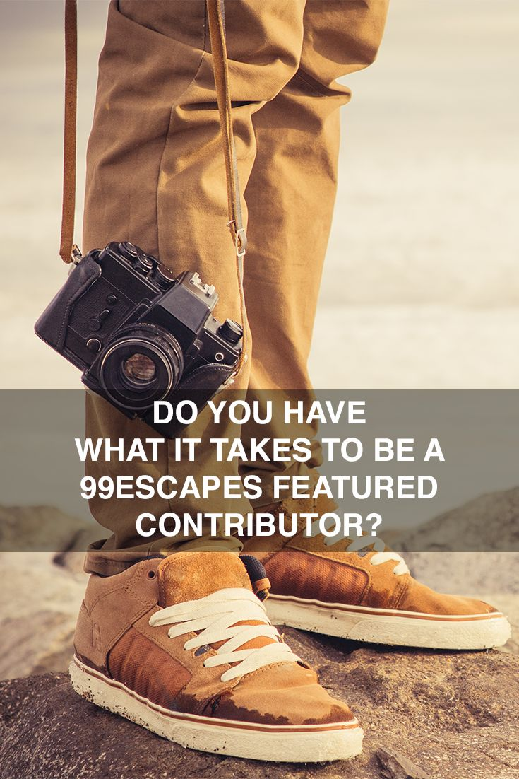99escapes is looking for writers, photographers, and film producers to become featured contributors and share their travel stories with our global network. Go to http://99escapes.com/featured-contributor/ to find out how you can become one of our featured contributors!