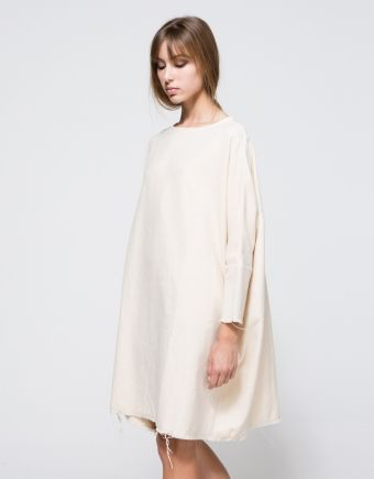 Painter Dress In Cream